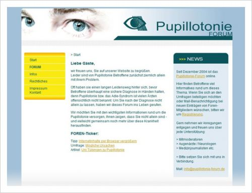 Pupillotonie-Forum